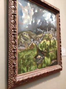 El Greco, View of Toledo, ca. 1598–99. On view in El Greco in New York