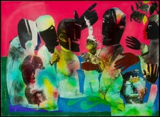 Of-the-Blues-Carolina-Shout-by-Romare-Bearden