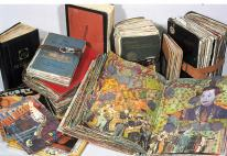 Journals (1990 - ) Mixed media in found books, dimensions variable