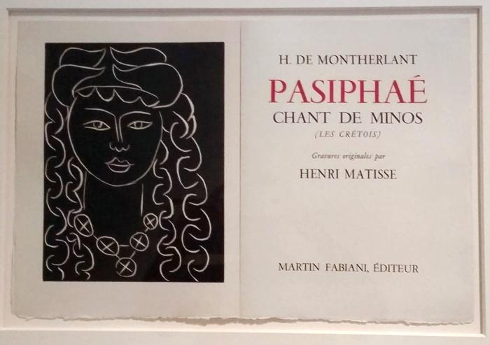 Matisse-Pasiphae