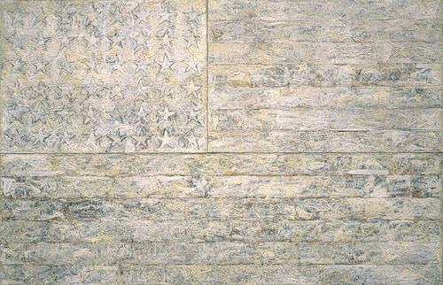 Jasper Johns, White Flag, 1955