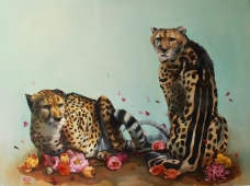 Kings, Oil on Canvas, 48' x 36""