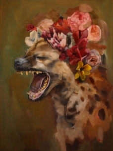 Shes Laughing at You. Oil on Canvas