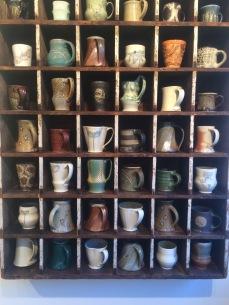 the mug cubby at Lark & Key