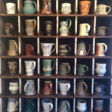 the mug cubby at Lark & Key