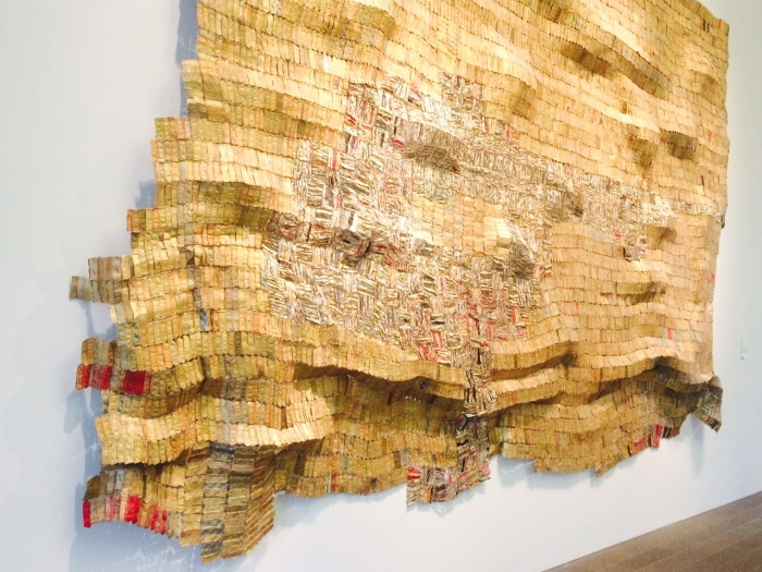 El Anatsui at de Young Museum