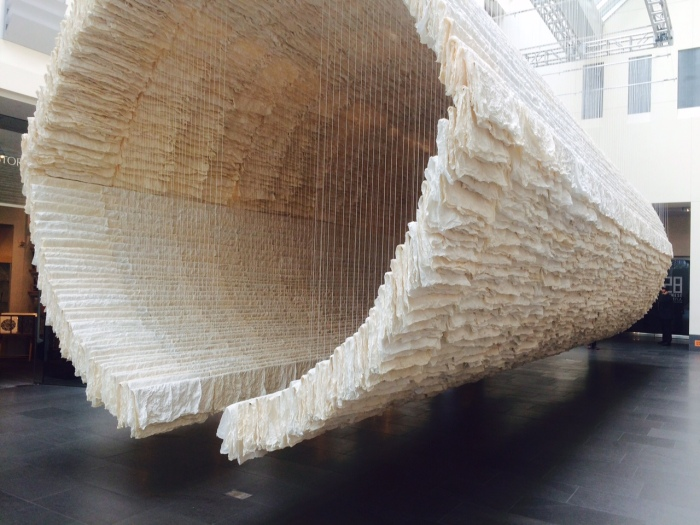 """Boat"" by Zhu Jinshi in ""28 Chinese"" at the Asian Art Museum"