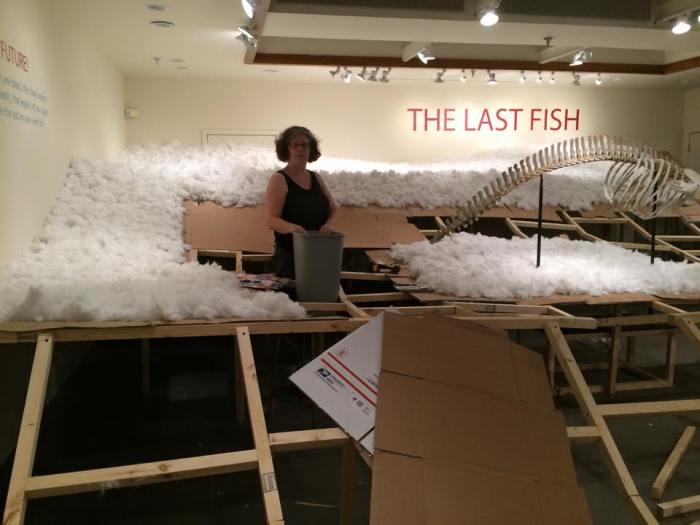 LAST FISH ON EARTH in progress.