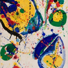 Sam Francis, As for Appearance II, oil on canvas, 1963-1965 © 2015 Sam Francis Foundation, California / Artists Rights Society (ARS), NY