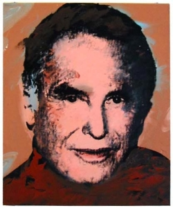 Andy Warhol portrait of Hans Bechtler