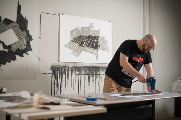 Waterkotte at the McColl Center for Art + Innovation; Photo Courtesy of Ben Premeaux