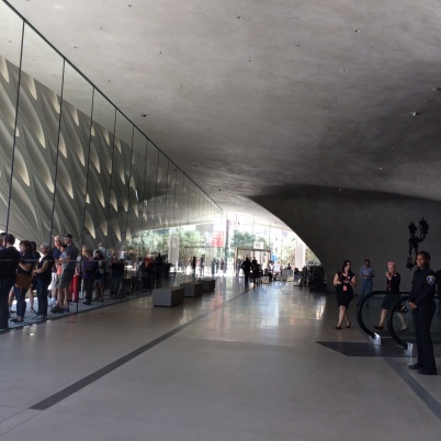 Long lines at The Broad