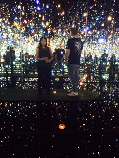Yayoi Kusama's Infinity Room at The Broad