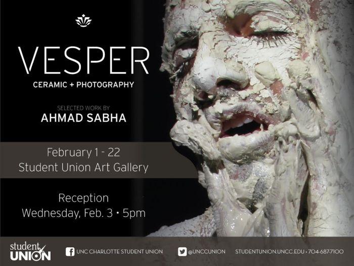 ahmad sabha - uncc gallery publicity image -a