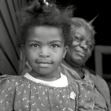 """Carolyn DeMeritt, """"Angel and Grandmother"""""""
