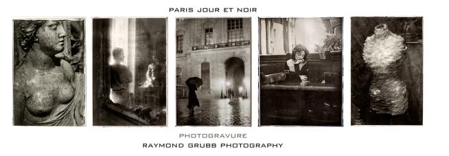 """Raymond Grubb, """"Paris Jour et Noir"""""""