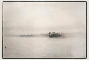 Lake James from Powerhouse Road, Raymond Grubb, 2006, Platinum Palladium Print