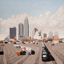 Northbound, Richard Bolen, Oil on Canvas