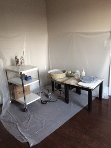 Studio Space at Elysian Collective in Mount Holly, NC