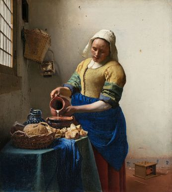 The Milkmaid, 1660