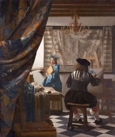 The Art of Painting 1666-1668