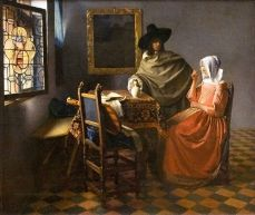 The Glass of Wine 1658-1660