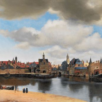 View of Delft 1660-1661