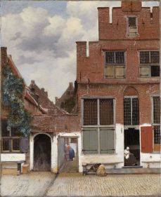 View of Houses in Delft 1657-1658