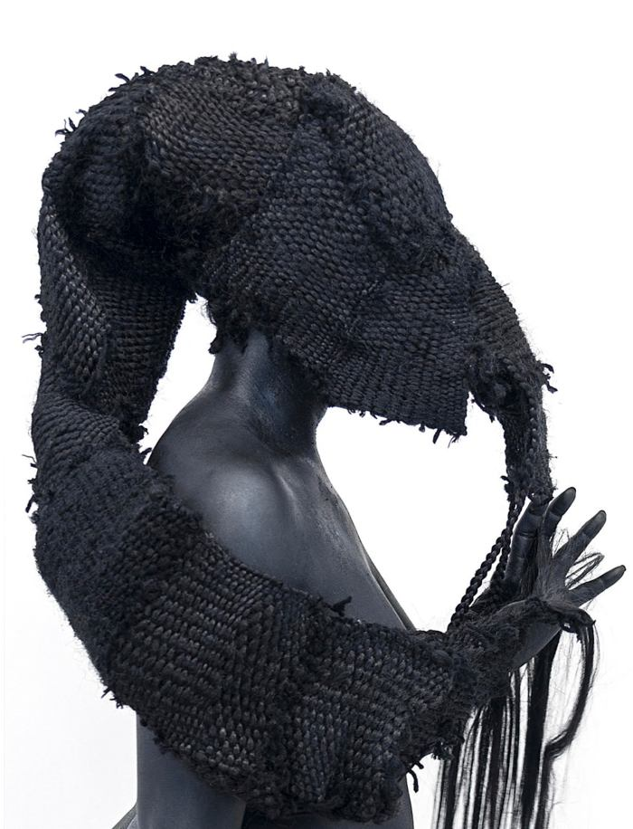 Weave Idolatry Detail Image and Video Link by Stephanie J. Woods